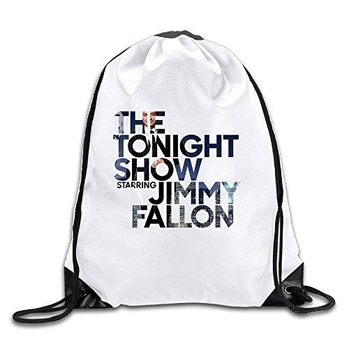 EUNICORN SG The Tonight Show Starring Jimmy Fallon Snapback Gym Bag Drawstring Backpack Sport Bag