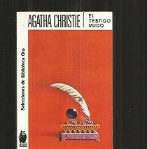 El testigo mudo par Christie