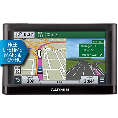 Garmin nuvi 65LMT GPS Navigators System with Spoken Turn-By-Turn Directions, Preloaded Maps and Speed Limit Displays (Lower 49 U.S. States) (Renewed)