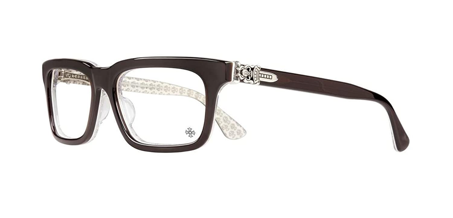 Amazon.com: Chrome Hearts - Kitshicker II-A - Eyeglasses (Coco White ...