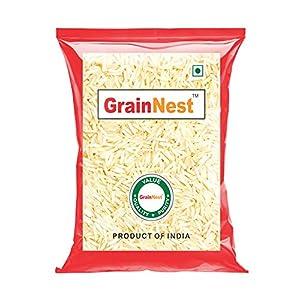 GrainNest Premium Basmati Rice / Rice with Long Grains & Rich Aroma / 1 Kg