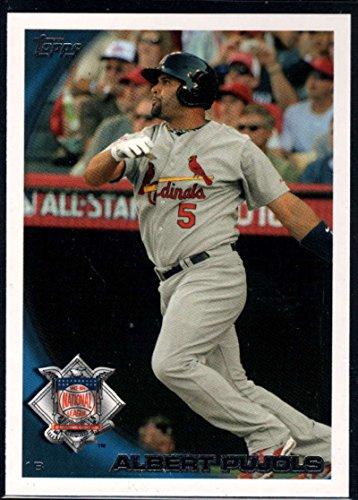 - Baseball MLB 2010 Topps Update #US-200a Albert Pujols Cardinals