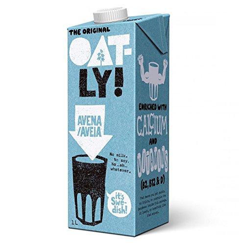 Oatly - Bebida de Avena - Pack de 6 (6 x 1 litro)