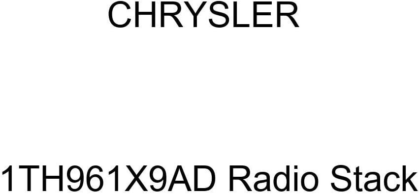 Genuine Chrysler 1TH961X9AD Radio Stack