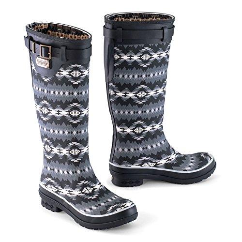 Park Boot Tall Pendleton Heritage Black Women's Papago PwWUX1I1q8