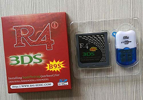 R_4i B9S pre-flasheado NTRboot soporta Luma3DS en 3DS / 2DS ...