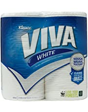Kleenex Viva White Kitchen Towels, 60ct (Pack of 2)