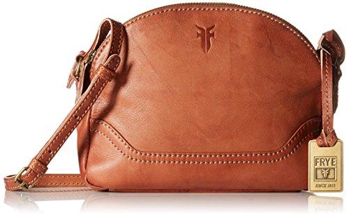 FRYE Campus Zip Cross Body Bag, Saddle, One Size 51OeMilaMpL
