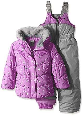 Amazon.com: ZeroXposur Girls' Toddler Orion Snowsuit
