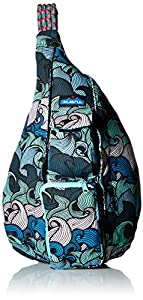 KAVU Rope Bag, Ocean Waves, One Size