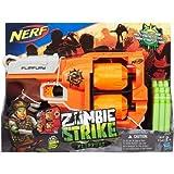 Zombie Strike FlipFury Blaster with 12 Zombie Strike darts
