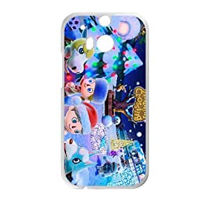 HTC One M8 Cell Phone Case White Animal Crossing New Leaf B2K3FV