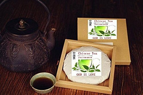Pu Erh Black Tea, Top Grade Fermented Puer Tea 600 Grams Tea Cake by JOHNLEEMUSHROOM RESELLER