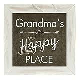 The Grandparent Gift Grandma Frame Happy Place Grandparent Sign