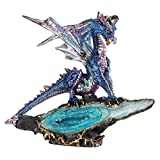 Design Toscano Geode Guardian Gothic Dragon Statue