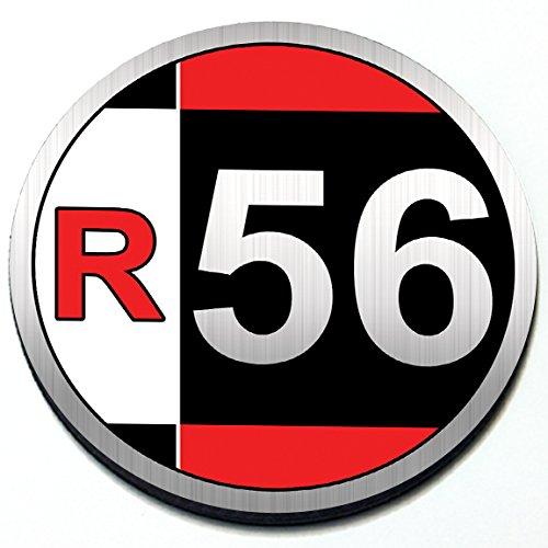 R56 - Magnetic Grill Badge For 2nd Gen MINI Cooper Hatchback 2007-2013 - Grill Badge