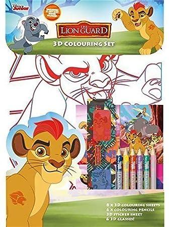 Anker Lgcst Lion Guard Die Garde Der Löwen 3d Malset Amazonde