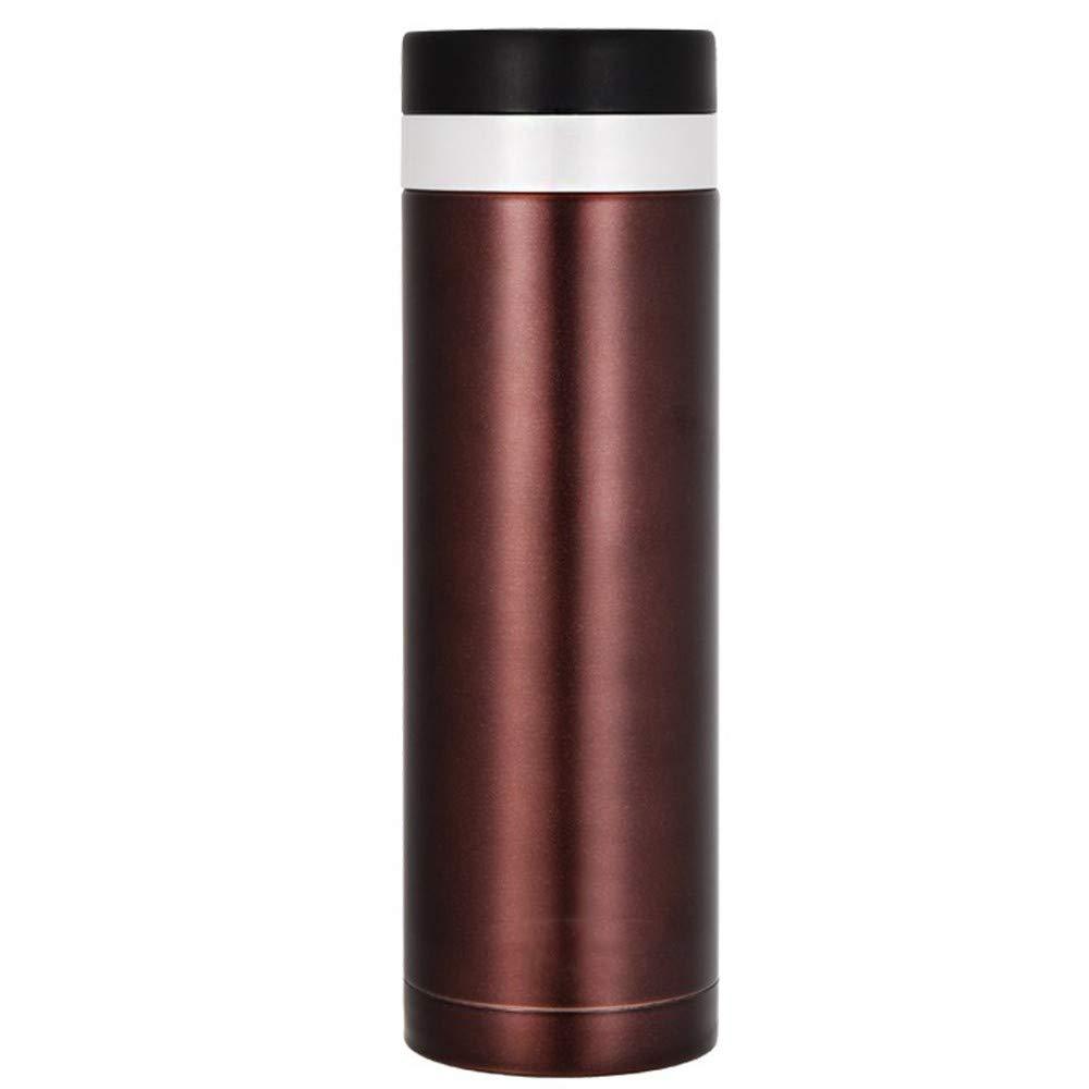 Lianaic thermosbecher Edelstahl Isolierflasche Männliche Und Weibliche Gerade Körper Tee Tasse 0.48L