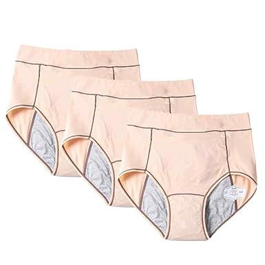 DAIYO Cintura Alta Mujer algodón cálido Palacio Menstrual a ...