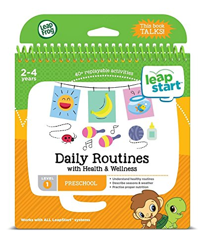 LeapFrog LeapStart Kindergarten & 1st Grade Interactive Learning System For Kids Ages 5-7 With Level 1 Preschool, Pre-Kindergarten Activity Books: Shapes, Math, Daily Routines & Alphabet Fun Bundle by LeapFrog (Image #5)
