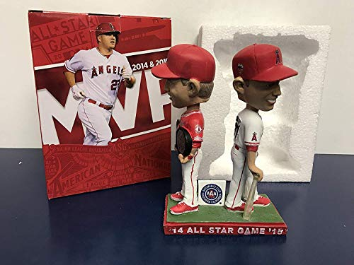 Mike Trout Dual MVP California Angels 2017 Stadium Promo Bobblehead SGA