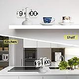 MIDCLOCK Flip Clock, Home Décor Desk Clock, Retro