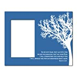VictoryStore Gift Frame - Picture Frame - Christian Theme - Isaiah 41:10 - Holds 4X6 picture