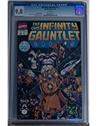 INFINITY GAUNTLET #1, CGC = 9.8, NM/M, Thanos, Avengers, 1991, more in store