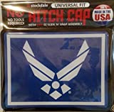 Air Force Universal Bumper Trailer Auto Hitch Cover United State Military US