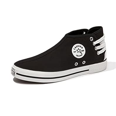 7817da0b4d98b Amazon.com | AGoGo Women's High Top Fashion Sneaker Slip on Loafers ...