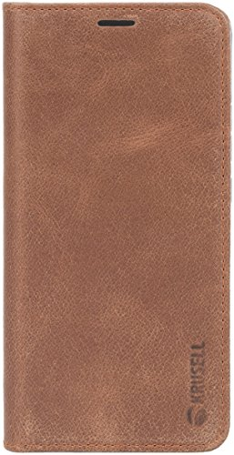Krusell Sunne 2 6 Funda cartera Marrón - Fundas para teléfonos móviles (Funda cartera, Sony, Xperia XA2, 15,2 cm (6), Marrón)
