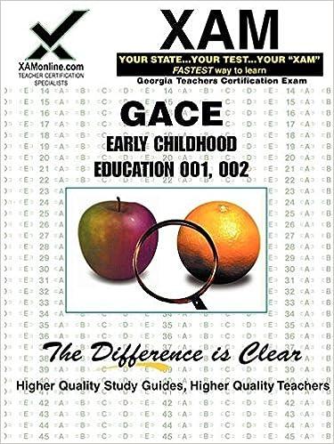 Buy Gace Early Childhood Education 001, 002: Teacher Certification ...