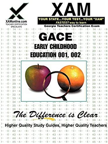 amazon com gace early childhood education 001 002 9781581975376 rh amazon com gace early childhood special education study guide gace early childhood social studies study guide