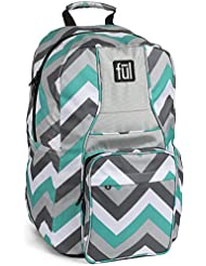 ful Dash School Backpack, Teal, One Size