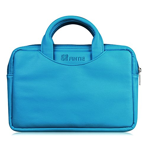 Fintie Universal 6   8 Inch Tablet Zipper Sleeve  Premium Pu Leather Travel Carry Case For Fire Hd 8  6Th 7Th Gen   Fire  5Th 7Th Gen   Fire Kids Edition  Kindle  Kindle Oasis  Ipad Mini  Blue