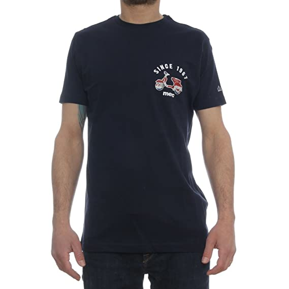 Merc of London Ludlow Camiseta, Azul (Navy), M para Hombre: Amazon ...