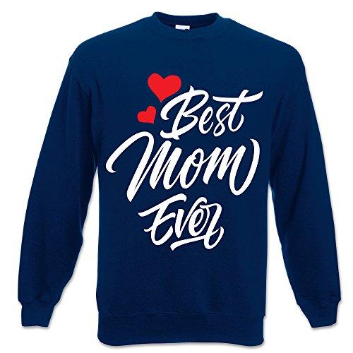 Best Blu Idea Mamma Della Festa Unisex Felpa Regalo Mom Ever Wqdw1Yzq