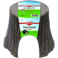 Kaytee Natural Tree Trunk Hideout, Large
