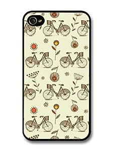 Bike Pattern Retro Vintage Colour For Samsung Galaxy S6 Case Cover