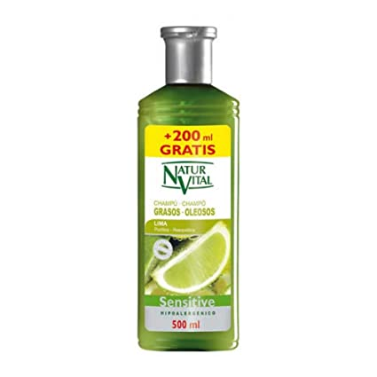 Naturaleza y Vida Sensitive Cabello Graso Champú - 500 ml ...