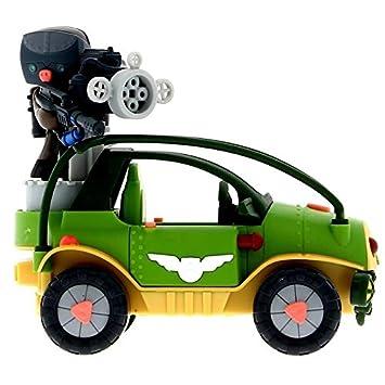 FEBER Mutant Busters Vehículo de La Résistance con BP: Amazon.es: Juguetes y juegos