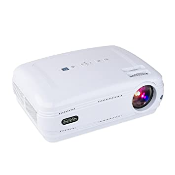 Amazon.com: Home Video Proyector LCD Proyector touyinger ...
