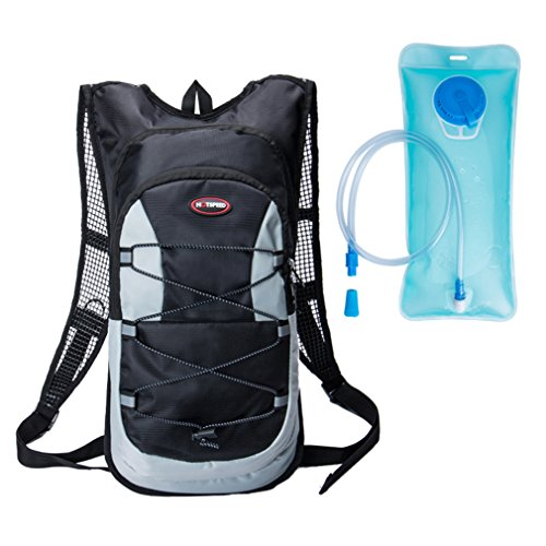 VolksRose Hydration Backpack Pack with 2L BPA FREE Bladder for Running, Cycling, Hiking, Camping etc.