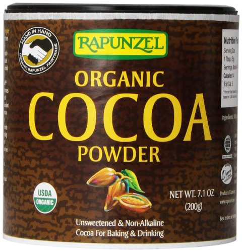 Rapunzel Pure Organic Cocoa Powder, 7.1 Ounce