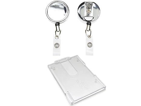 Amazon.com: ID Card It Heavy Duty Cordón de nailon ID Badge ...