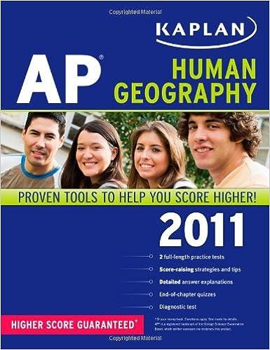 Kaplan AP Human Geography 2011