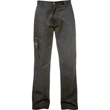 0214d3800f CAT Task Workwear Multi Pocket Action Trousers Mens: Amazon.co.uk: Clothing