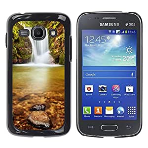 Exotic-Star ( Wateerfall Nature ) Fundas Cover Cubre Hard Case Cover para Samsung Galaxy Ace 3 III / GT-S7270 / GT-S7275 / GT-S7272
