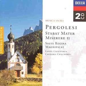 Stabat Mater; Miserere II; Magnificat; Salve Regina