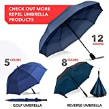 Repel Umbrella Windproof Travel Umbrella with